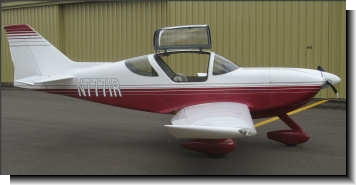 Copilot side view of Glasair II FT